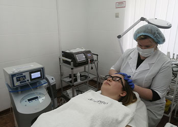 Озонотерапия кожи головы